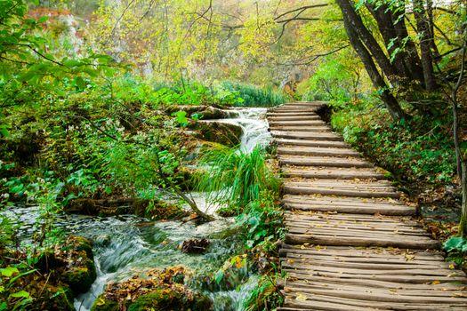 Beautiful photos on the theme of plitvice lakes national park, croatia