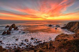 Фото бесплатно Крошки Морские арки, пейзаж, скалы
