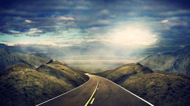 Photo free landscapes, asphalt, path