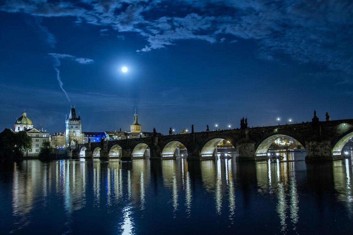 Фото бесплатно дома, мосты, Карлов мост - на рабочий стол