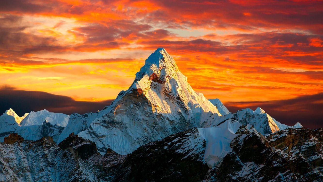 Фото бесплатно Гималаи, горы, природа - на рабочий стол