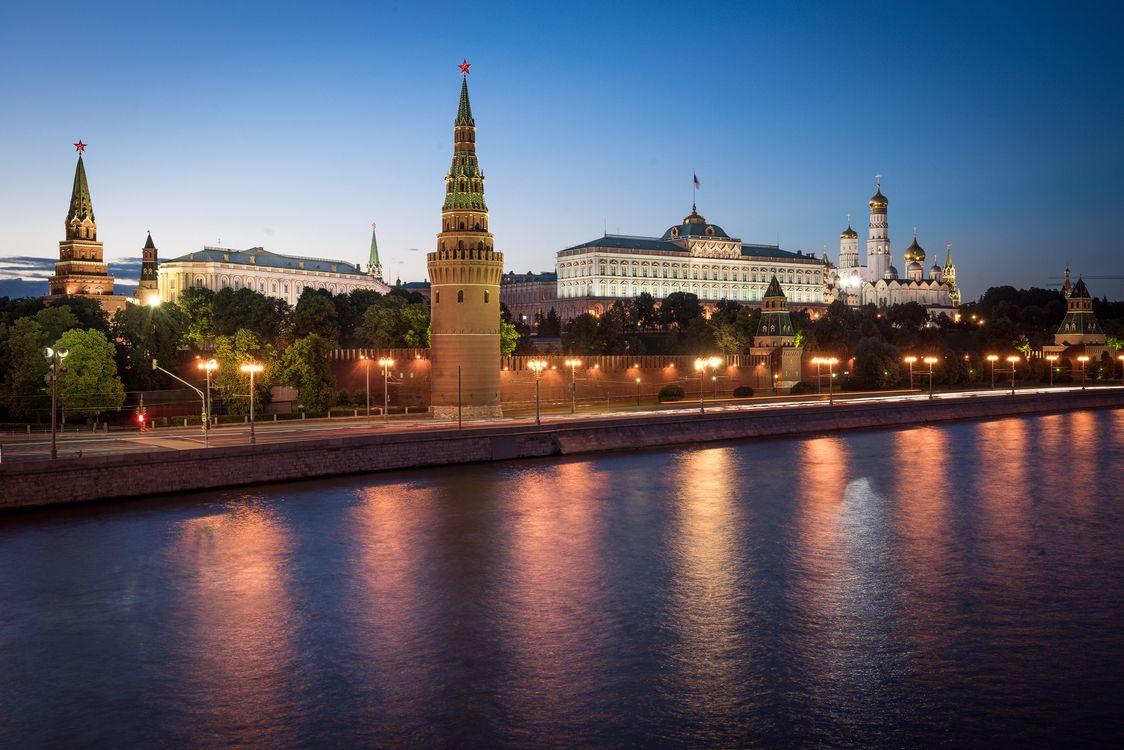 Фото бесплатно архитектура, Moscow, Moscow river - на рабочий стол