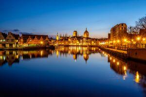 Фото бесплатно Гданьск, Польша, город