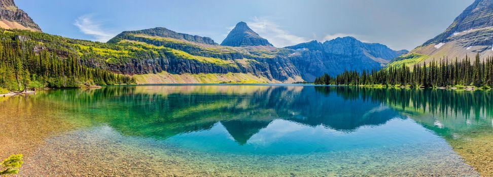 Фото бесплатно Hidden Lake, Glacier National Park, Canada