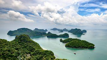 Бесплатные фото islands,Ang Thong,National Park,Thailand