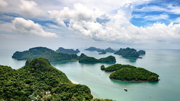 Photo free islands, Ang Thong National Park, Thailand