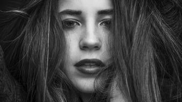 Заставки открытый рот, женщины, модель