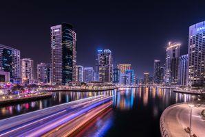 Фото бесплатно дорога, город, ночь