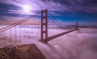 Фото бесплатно Golden Gate Bridge, San Francisco, California