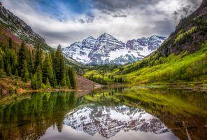 Озеро в Колорадо · бесплатное фото