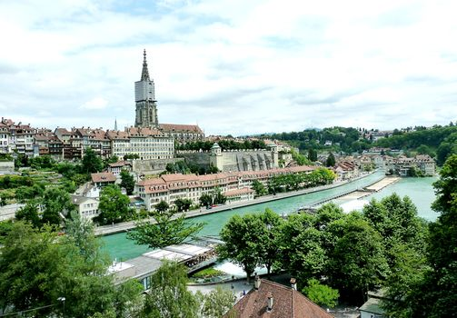 Бернский собор в Швейцарии · бесплатное фото