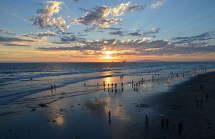 Photo free CALIFORNIA, Huntington beach, Ocean