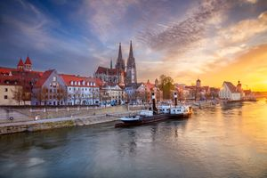 Фото бесплатно Regensburg, Регенсбург, Бавария