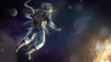 Photo free astronaut, space, stars