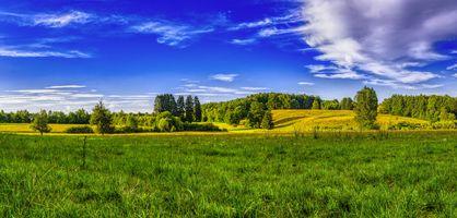 Фото бесплатно панорама, пейзаж, бавария