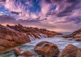 Заставки Западная Австралия, море, скалы