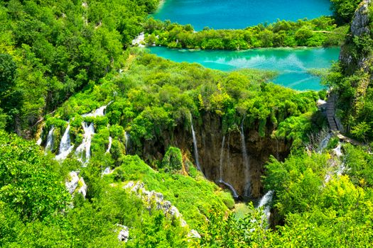 Beautiful pictures of the plitvice lakes national park, croatia free download
