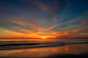 Бесплатные фото закат,небо,горизонт,послесвечение,закат солнца,море,восход