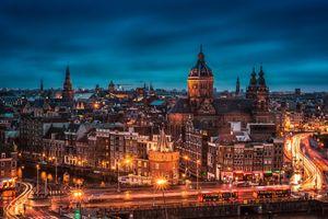 Фото бесплатно Нидерланды, свет, освещение