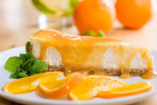 Фото бесплатно торт, крем, апельсин