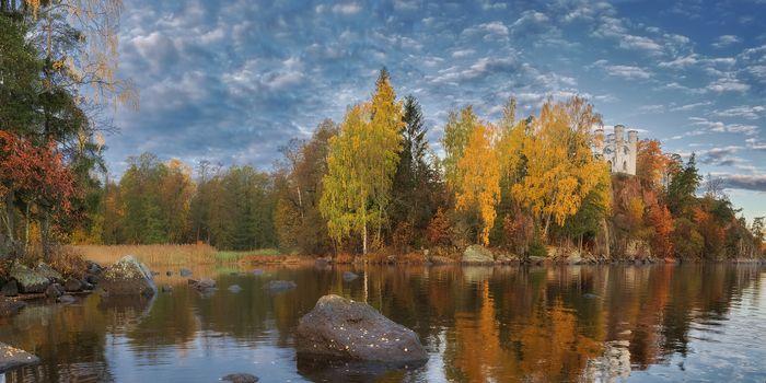 Фото бесплатно Ленинградская область, г Выборг, осень