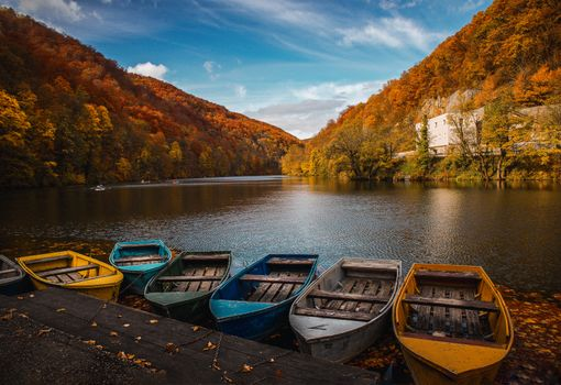 Фото бесплатно лодки, озеро, фотография