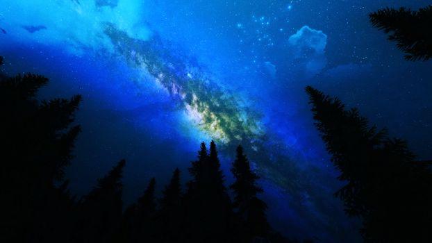 Фото бесплатно земля, галактика, пейзаж