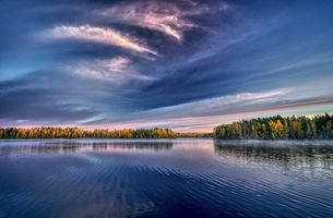 Thousands of lakes in Finland · free photo