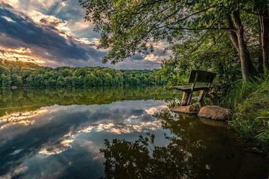 Photo free Germany, Brandenburg, river