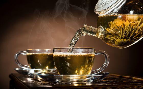 Фото бесплатно чай, чашки, напитки