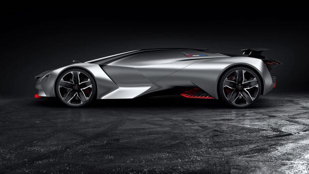 Photo free Peugeot, cars, concept cars