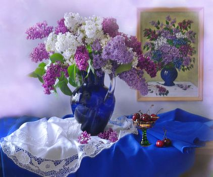 Photo free lilac, background, picture