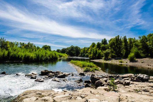 Заставки свободно, водное пространство, природный ландшафт