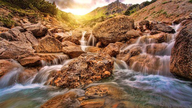 Photo free California, creek, rocks