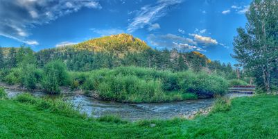 Фото бесплатно Estes Park, штат Колорадо, река