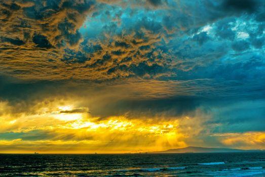 Photo free storm, clouds, sea