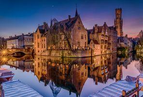 Фото бесплатно Брюгге, Бельгия, город