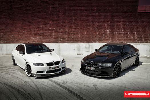 Photo free car, BMW, white