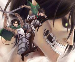 Photo free shingeki no kyojin, levi, titan