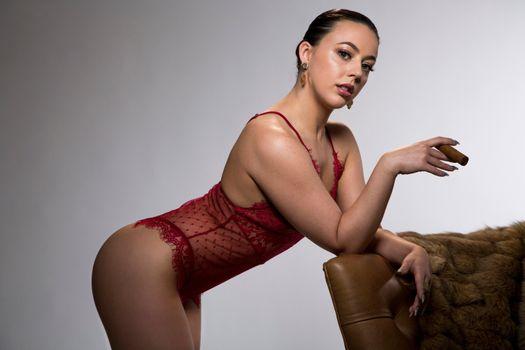 Бесплатные фото Уитни Райт,поза,сексуальная,девушка,нижнее белье,видеть сквозь