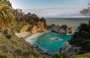 Пляж в Калифорнии