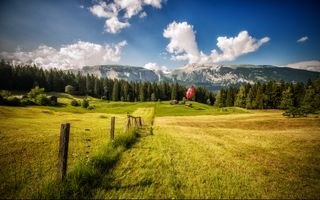 Photo free Switzerland, Flims, inflammatory fever
