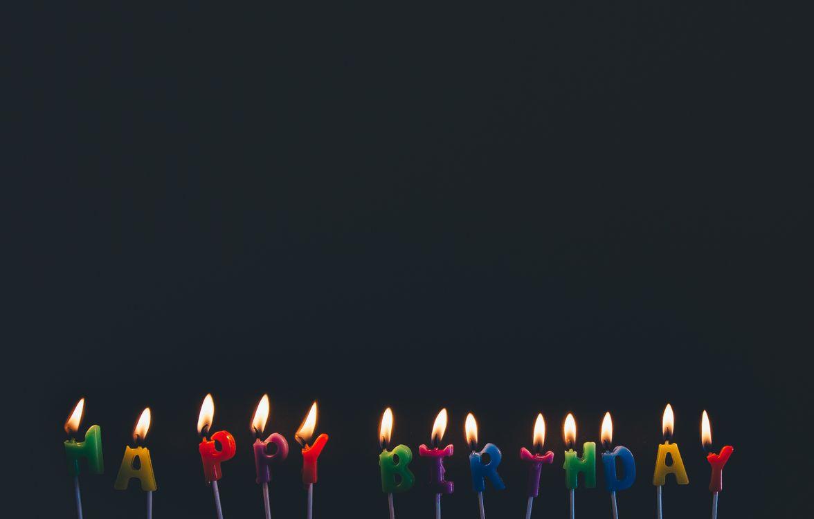 Фото бесплатно день рождения, свечи, праздник - на рабочий стол