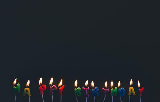Фото бесплатно день рождения, свечи, праздник
