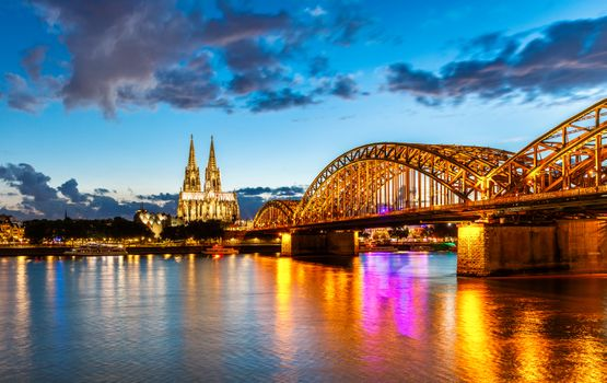 Photo free dawn, Cologne, Germany