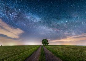 Заставки Млечный Путь, звезды, ночь