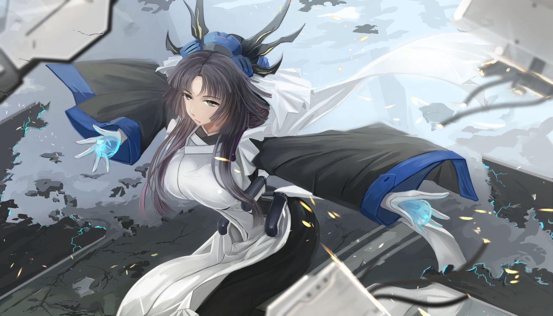 Фото бесплатно аниме, девушки, hanfu, аниме - скачать на рабочий стол