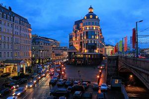 Фото бесплатно здания, автомобили, города
