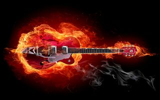 Photo free fire, guitars, instrument