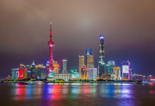Заставки Shanghai, China, город